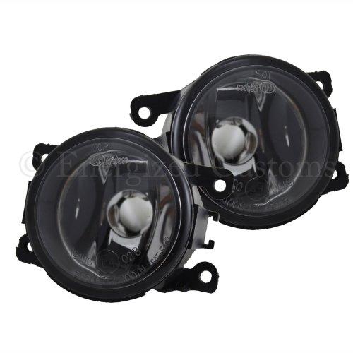 Citroen C4 Picasso 2007-> Front Fog Light Lamps 1 Pair O/s & N/s