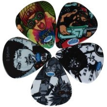 5 PCS Fingers Music Play Guitar Picks Acoustic Guitar Thickness 0.71/0.96 MM, A4