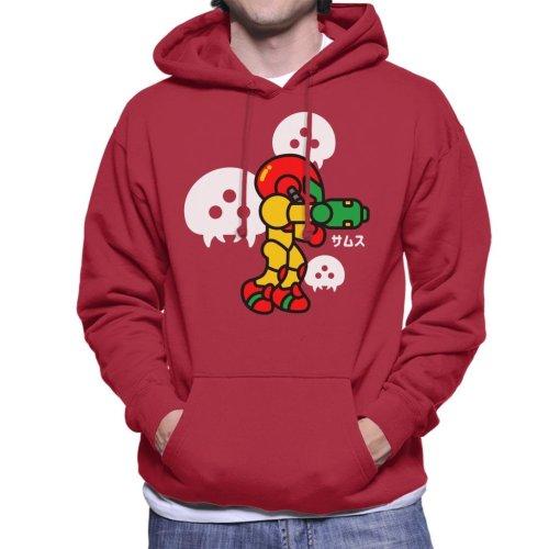 Chibi Samus Metroid Men's Hooded Sweatshirt