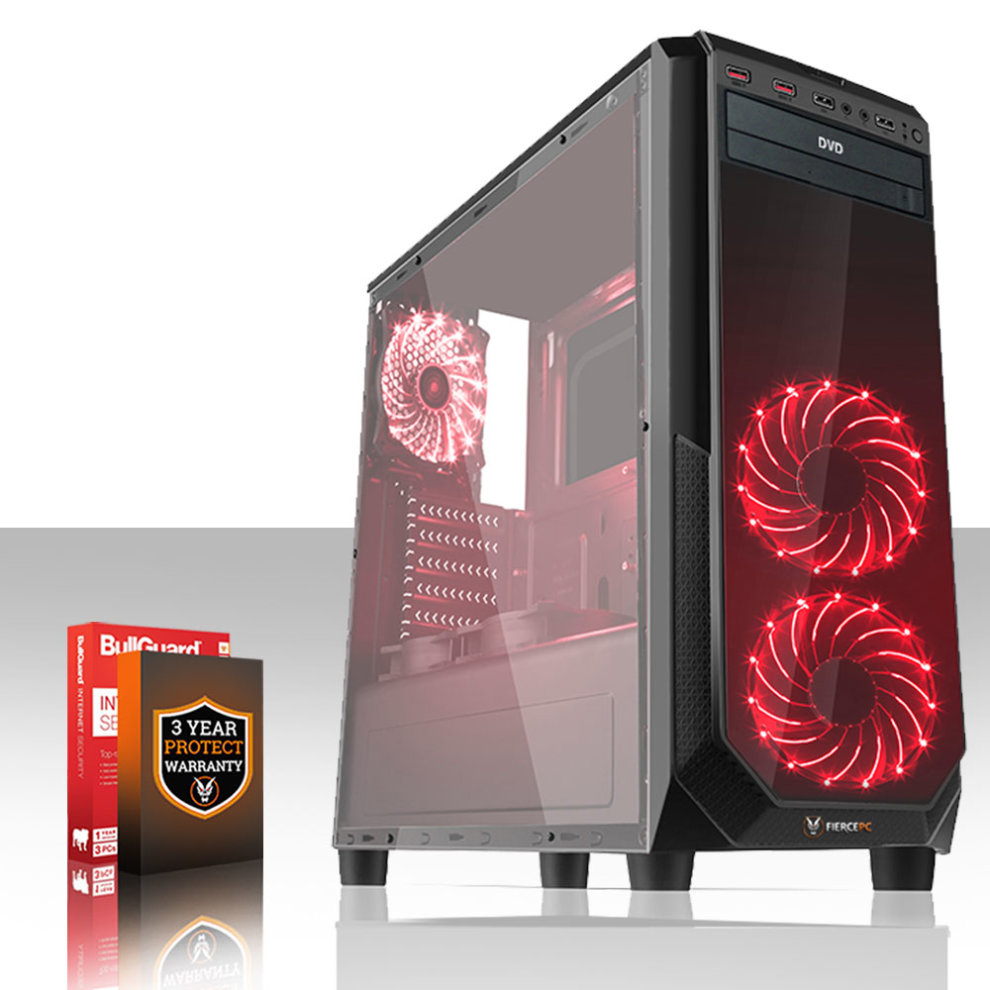 Fierce Gaming PC - AMD FX-8350 4 2GHz with various options