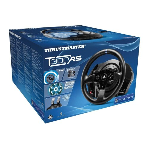 Thrustmaster T300 RS Official Force Feedback Racing Wheel - PS4/PS3/PC DVD