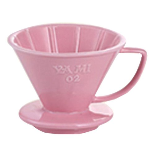 Tea/ Espresso /Coffee Accessories Coffee Filter Cup Pink (101 Filter Paper)