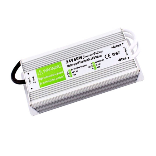 DC24V IP67 60W 2.5A Waterproof LED Driver Power Supply Transformer