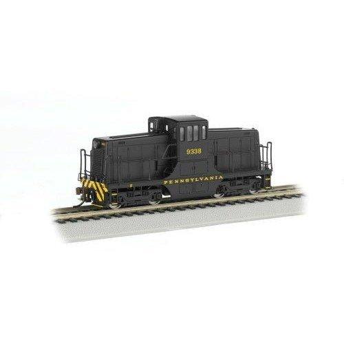 Bachmann Industries PRR 9338 GE 44 Ton Switcher Locomotive Car