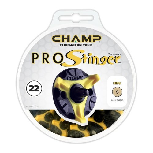 Champ Pro Stinger Golf Spikes 6mm Small Metal Thread