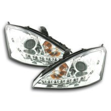Daylight headlight  Ford Focus Year 98-01 chrome