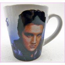 Elvis Presley Blue Shirt Tea or Coffee Mug