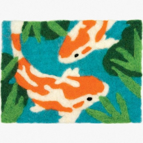 D72-73891 - Dimensions Needle Felting - Art: Koi