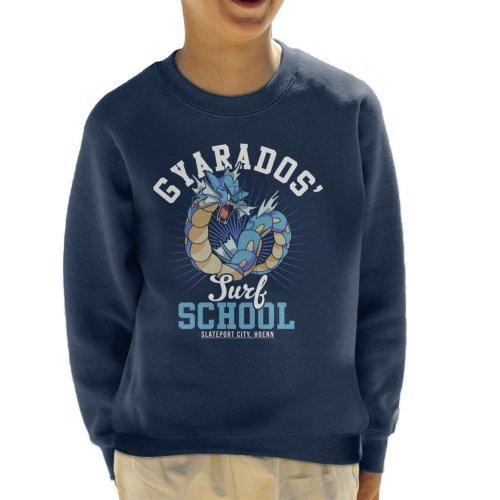 Gyarados Surf School Pokemon Kid's Sweatshirt