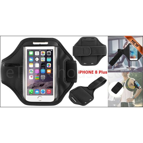 Apple Gym Running Jogging Sports Armband Holder For iPhone 8 Plus