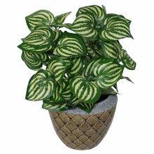 45cm Artificial Watermelon Style Leaf Plant