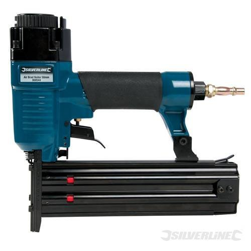 50mm 18 Gauge Air Brad Nailer - Silverline 868544 -  air brad nailer 50mm 18 gauge silverline 868544