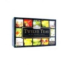 Ahmad - Foiled Twelve Teas Selection