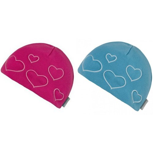 Trespass Childrens Girls Luma Heart Beanie Hat