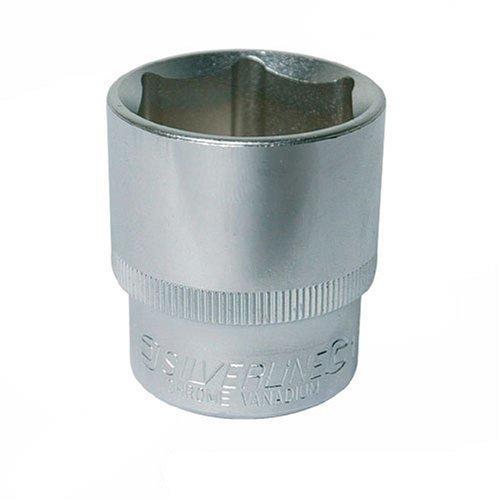 "Silverline 282999 Socket 1//2/"" Drive 6 Point Imperial 9//16/"""