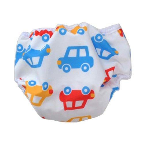 [Car] Reuseable Baby Swim Diaper Lovely Infant Swim Nappy Swimwear