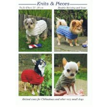 Knitting Pattern for Knitted Coats For Chihuahuas and other very small Dogs