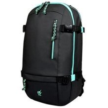 Port Designs AROKH BP-1 15.6 Inch Notebook backpack Black/Turquoise