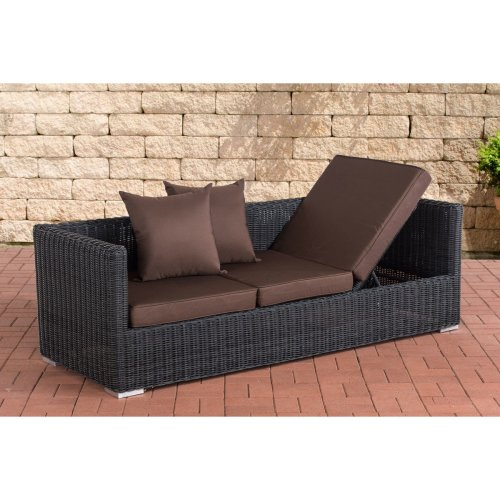 Lounge sofa Solano 5mm Terra Brown