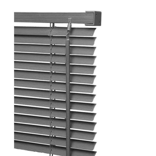 PVC Venetian Blind Window Blinds Grey Color All Sizes