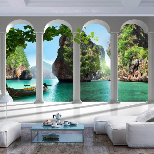 Wallpaper - On the terrace