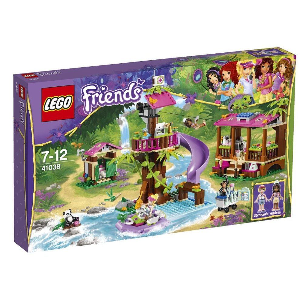 Lego Friends 41038 Jungle Rescue Base On Onbuy