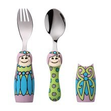 Eat4Fun Duos Fairy Princess Children's Cutlery Set