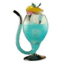 Creative Long Mouth Design Cocktail Glass Individuality Glass Goblet
