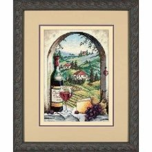 D06972 - Dimensions Counted X Stitch - Gold Petite, Dream of Tuscany