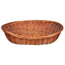Trixie Dog Basket Dark Wicker 50 Cm/28071 - Cm28071 -  trixie dog basket dark wicker 50 cm28071