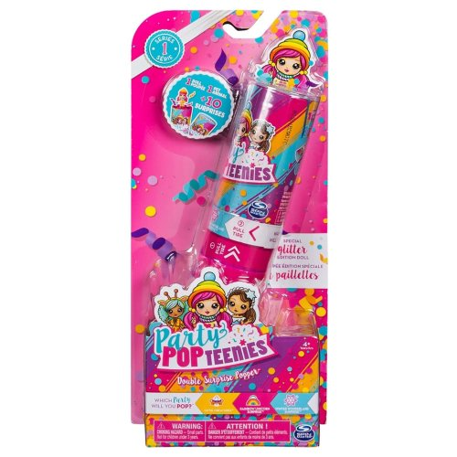 Party Popteenies Double Surprise Popper (Styles May Vary) Girls Doll Toy Gift