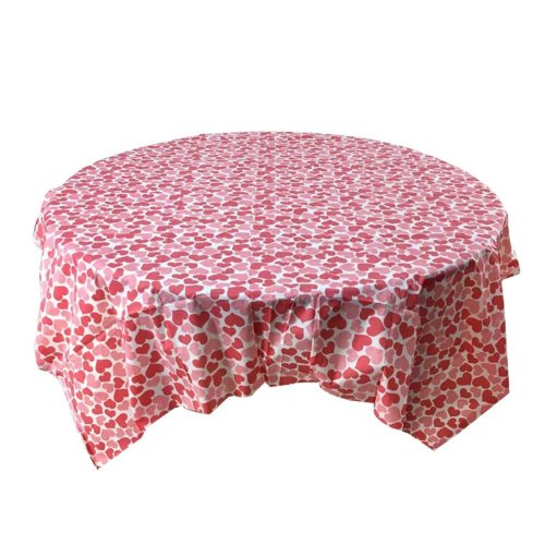 Set of 2 Elegant Fashion Home Tablecloths Durable Thick Disposable Tablecloth,C2