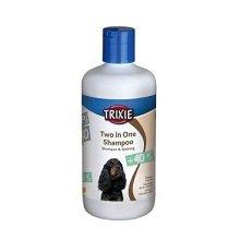 Two In One Shampoo, 250ml - Trixie Dog Shampoo New -  trixie dog two one shampoo 250 ml new