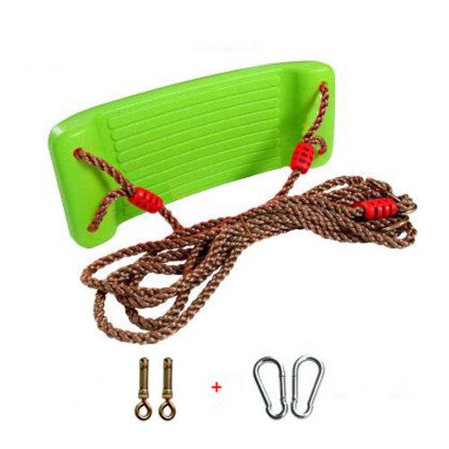 2-in-1 Snug 'n Secure Swing - Holds 331 Lbs Adjustable Hanging Ropes,#D
