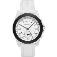 Loggede Armani Exchange AXT1000 Watch Loggede Silicone White Man