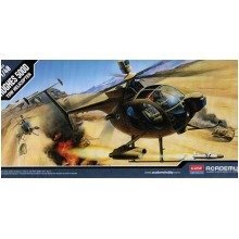 Aca12250 - Academy 1:48 - Hughes 500d Tow Helicopter