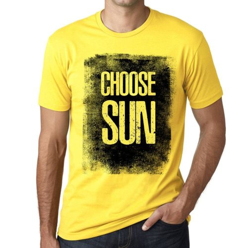 b7aa55d16 Mens Vintage Tee Shirt Graphic T shirt Choose SUN Pale Yellow on OnBuy