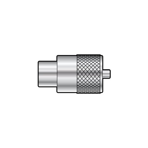 PL259 plug for 9mmØ cable