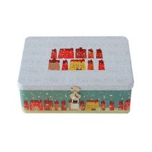 Creative Office Storage Box/Container/Invoice Box/Postcard Boxes with Lock,House
