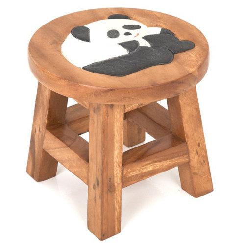 Childs Stool – Panda Bear