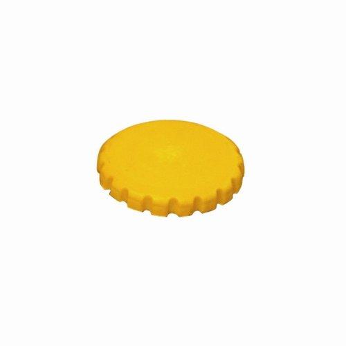 Oil Filler Cap - Yellow - Vauxhall