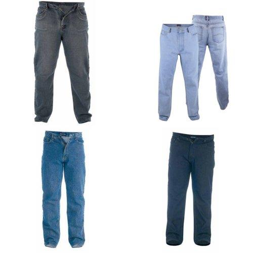 Duke Mens Rockford Kingsize Comfort Fit Jeans