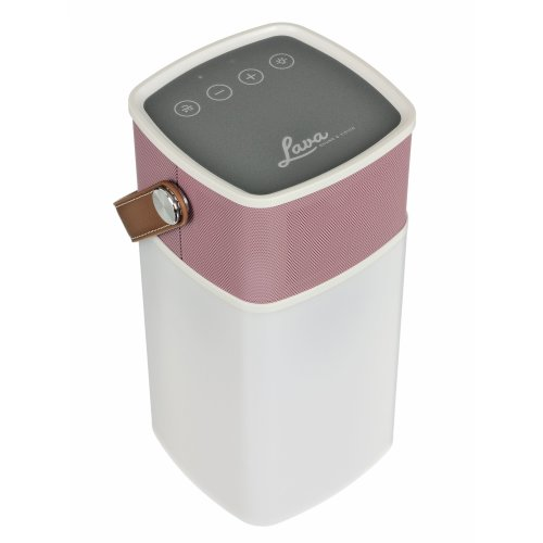 Lava BrightSounds 2 | Portable Bluetooth Speaker with Dimmer Controlled Lantern, Powerbank for Phone/Tablet Charging & Battery life up to 36hrs - Pink