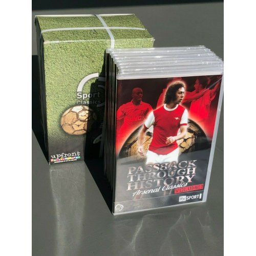 12 x Arsenal DVDs - Arsenal ITV Classics DVDs - Sports Wholesale