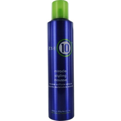 ITS A 10 by Its a 10 MIRACLE STYLING MOUSSE 9 OZ for UNISEX (Package Of 3)