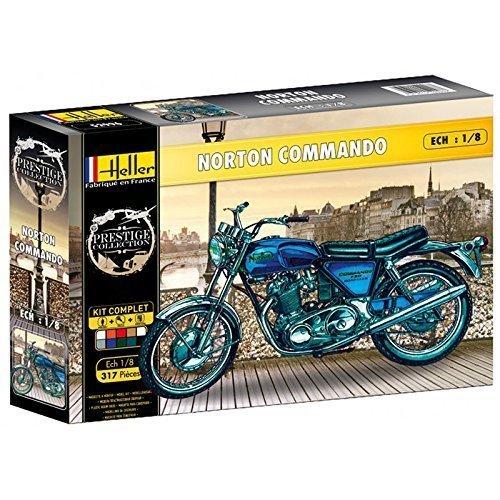 Heller Gift Set 1:8 - Norton 750 Commando -