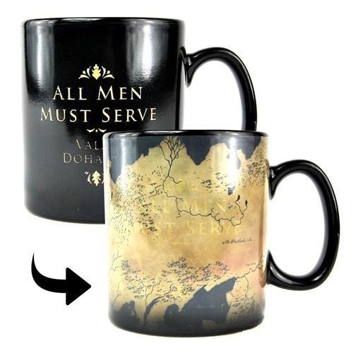 Game Of Thrones Map Heat Change Mug