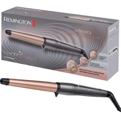 Remington Ci83V6 Keratin Protect Hair Styling Curling Wand Women's Ceramic Tongs