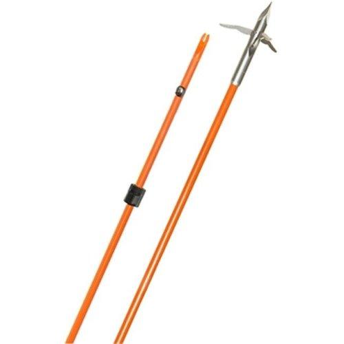 Fin Finder F81370 0.31 x 32 in. Raider Pro Orange Arrow with Innerloc 3 Barb Grapple Point