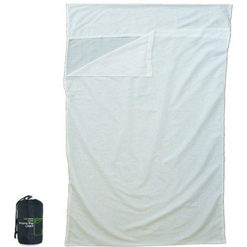 Yellowstone Double Sleeping Bag Liner (White)